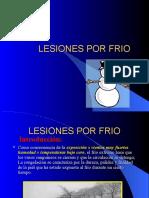 Lesiones Por Frio.