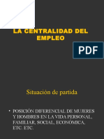 Centralidad Del Empleo