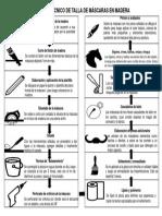 Proceso Técnico de Talla de Máscaras en Madera