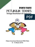 Buku Saku Pin Polio