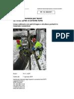 Regole di sicurezza per lavori su linee aeree a corrente forte (STI_246_0107_i)