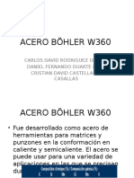 ACERO BÖHLER W360