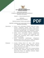 PERMEN Permen Kukm Nomor 17 Tahun 2015 Tentang Pengawasan Koperasi