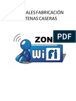 Antenas Caseras