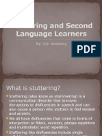stuttering and second language learners