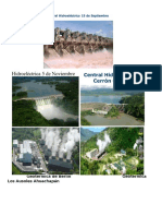 Presas Hidroelectricas y Geotermicas