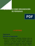 ENTIDAD COMO ORGANIZACION DE PERSONAS.ppt