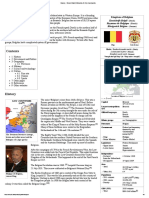 Belgium - Simple English Wikipedia, The Free Encyclopedia