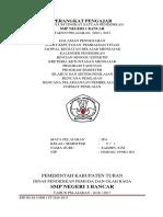 Perangakat Mengajar IPA Terpadu SMP Kelas9 Sem 1 2016-2017