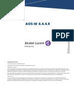 AOS-W 6.4.4.8 Release Notes