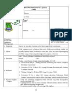 9.2.2.4 SOP Prosedur Penyusuhan Layanan Klinis