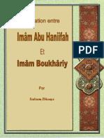 Relation Entre Imam Abu Haniifah Et Imam Boukhariy (RA)