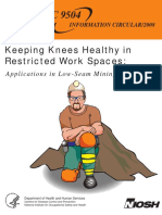 Keeping Knees Healthy and Safe in Mining