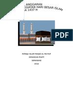 Proposal Idul Adha