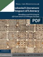 Postcolonial Literature by Neil Ten Kortenaar