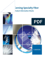 Sfiber Corning Specialty Fiber Product Information Sheets 111913