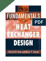 Shah Fundamental of Heat Exchanger Design