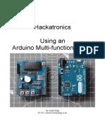 Hackatronics Arduino Multi Function Shield