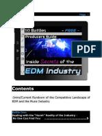 10 Battles - Inside Secrets of the EDM Industry