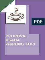 Proposal Usaha Warung Kopi