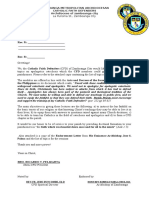 CFD Letter