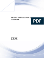 IBM SPSS Statistics Core System User's Guide