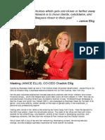 Meeting Janice Ellig