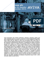 AVEVA HYR Presentation 2015