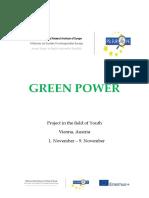 Info Pack - Green Power