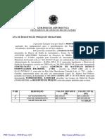 ATA Registro de Preços GAP-RJ Nº 048/GAP/2009