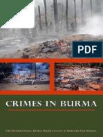 Crimes in Burma