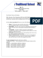 2016-17 syllabus