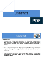 Logistics Bo