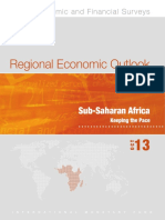 Regional Economic Outlook. Sub-Saharan Africa - Sreo1013