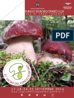 Fiera del Fungo di Borgotaro - Programma 41° edizione