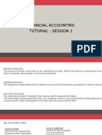 Financial Accounting tutorail