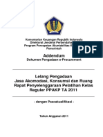 Addendum_Dokumen Pengadaan Hotel Reguler Medan14062011