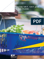Worldwide VAT, GST and Sales Tax Guide 2015