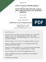 United States v. Anthony Cusumano, Michael John McCarthy Eugene Arthur Riggio, Anthony Suppa and James Testa, 429 F.2d 378, 2d Cir. (1970)