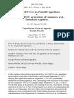 Adele Proetta v. Frederick B. Dent, as Secretary of Commerce, 484 F.2d 1146, 2d Cir. (1973)