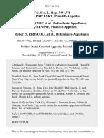 Fed. Sec. L. Rep. P 94,575 Paulette Papilsky v. Alvin H. Berndt, Harry Levine v. Robert S. Driscoll, 503 F.2d 554, 2d Cir. (1974)