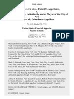 Randall Black v. Abraham Beame, Individually and as Mayor of the City of New York, 550 F.2d 815, 2d Cir. (1977)