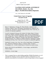 In Re Corrugated Container Antitrust Litigation, M.D.L. No. 310. Appeal of Phillip L. Fleischacker, Deponent, 644 F.2d 70, 2d Cir. (1981)