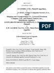 Kanematsu-Gosho, Ltd. v. M/t Messiniaki Aigli, Amigos Compania Naviera, S.A., Mobil Shipping and Transportation Co., Leeward Petroleum Company, Ltd., and Doman Tankers, Inc., Leeward Petroleum Company, Ltd., Third-Party v. E.W. Saybolt & Co., Ltd., Third-Party, 805 F.2d 47, 2d Cir. (1986)