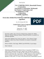 Gmac Commercial Corporation, Household Finance Corporation, Itt Commercial Finance Corporation, McDonnell Douglas Finance Corporation, and Westinghouse Credit Corporation v. Niagara Mohawk Power Corporation, 918 F.2d 19, 2d Cir. (1990)