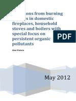 Emissions From Burning Plastics
