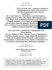 Haitian Centers Council, Inc. National Coalition for Haitian Refugees Immigration Law Clinic of the Jerome N. Frank Legal Services Organization of New Haven, Connecticut Dr. Frantz Guerrier, Pascal Henry, Lauriton Guneau, Medilieu Sorel St. Fleur, Dieu Renel, Milot Baptiste, Jean Doe, Roges Noel, on Behalf of Themselves and All Others Similarly Situated A. Iris Vilnor, on Behalf of Herself and All Others Similarly Situated Mireille Berger, Yvrose Pierre, Mathieu Noel, on Behalf of Themselves and All Others Similarly Situated v. Gene McNary Commissioner, Immigration and Naturalization Service William P. Barr, Attorney General Immigration and Naturalization Service James Baker, Iii, Secretary of State Rear Admiral Robert Kramek, Admiral Kime, Commandants, United States Coast Guard Commander, U.S. Naval Base, Guantanamo Bay, 969 F.2d 1326, 2d Cir. (1992)