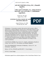 Credit Lyonnais Securities (Usa), Inc. v. Rafael Alcantara and Cavelba, S.A., Doing Business as Casa De Bolsa Rafael Alcantara V., 183 F.3d 151, 2d Cir. (1999)