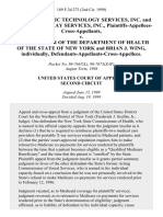 K&a Radiologic Technology Services, Inc. And Diagnostic X-Ray Services, Inc., Plaintiffs-Appellees-Cross-Appellants v. Commissioner of the Department of Health of the State of New York and Brian J. Wing, Individually, Defendants-Appellants-Cross-Appellees, 189 F.3d 273, 2d Cir. (1999)