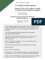 Mark B. Pangburn v. James Culbertson, Court Clerk John M. York, Sheriff, & Sheriff's Property Clerk, 200 F.3d 65, 2d Cir. (1999)
